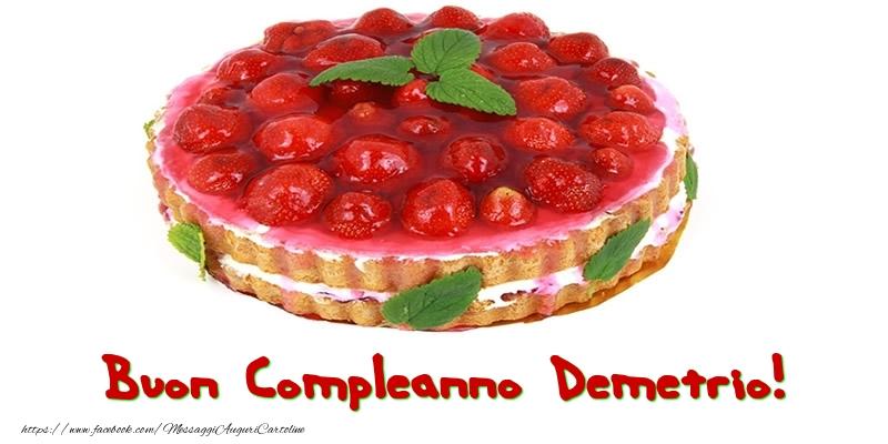 Cartoline di compleanno - Buon Compleanno Demetrio!