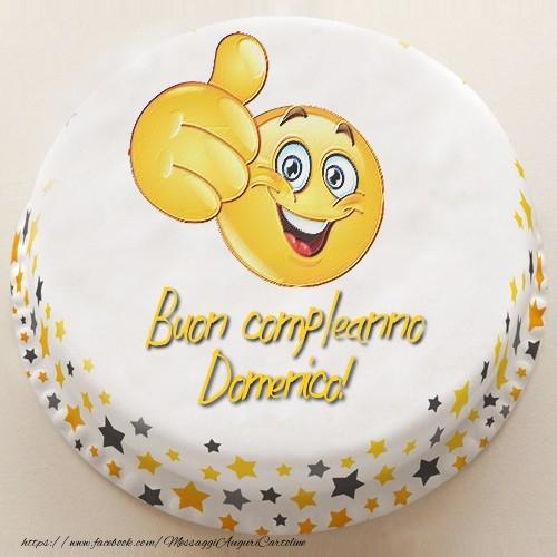 Souvent Tanti Auguri di Buon Compleanno Domenico! - Cartoline di  FO38