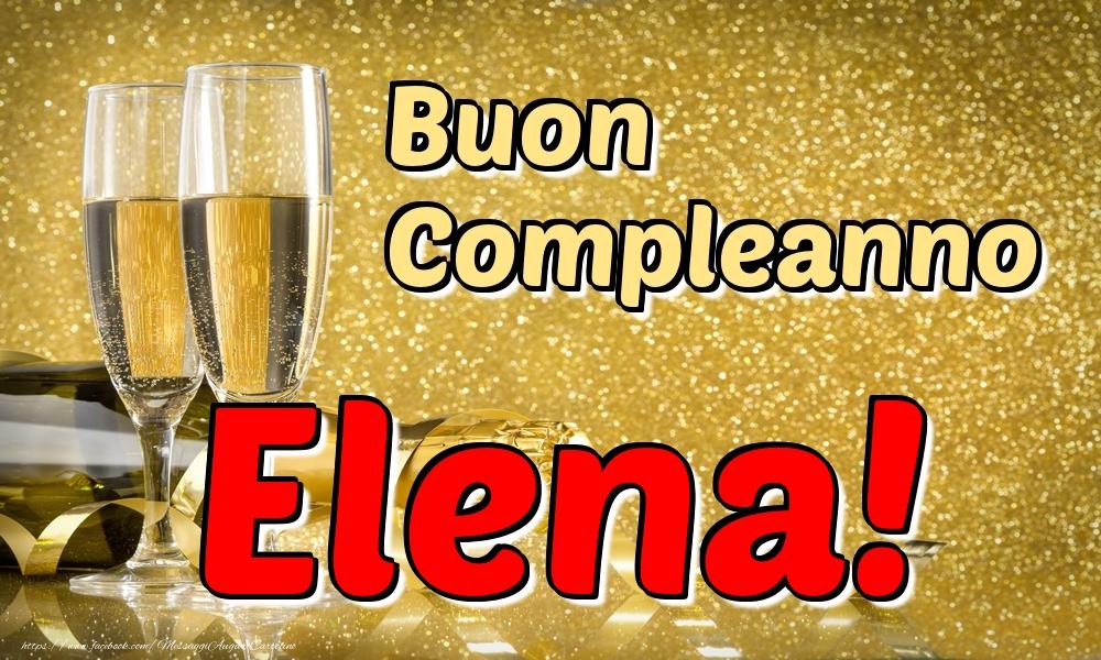 Cartoline di compleanno - Buon Compleanno Elena!