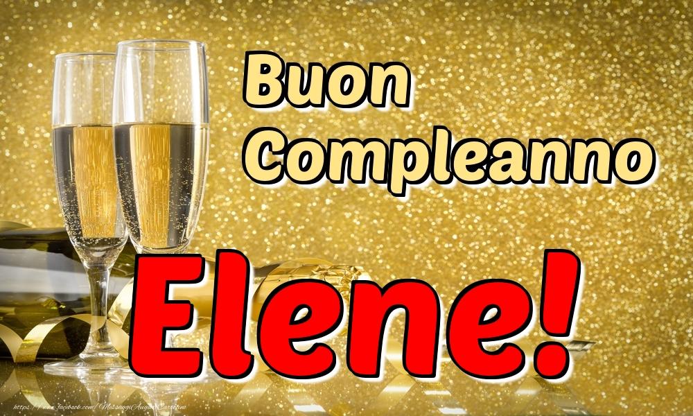 Cartoline di compleanno - Buon Compleanno Elene!