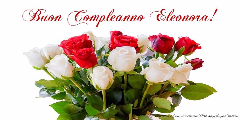 Estremamente Tanti auguri di Buon Compleanno Eleonora! - Cartoline di  YH08