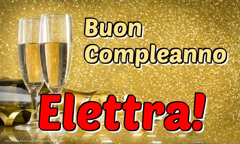 Cartoline di compleanno - Buon Compleanno Elettra!
