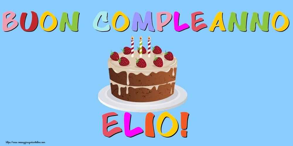 Cartoline di compleanno - Buon Compleanno Elio!