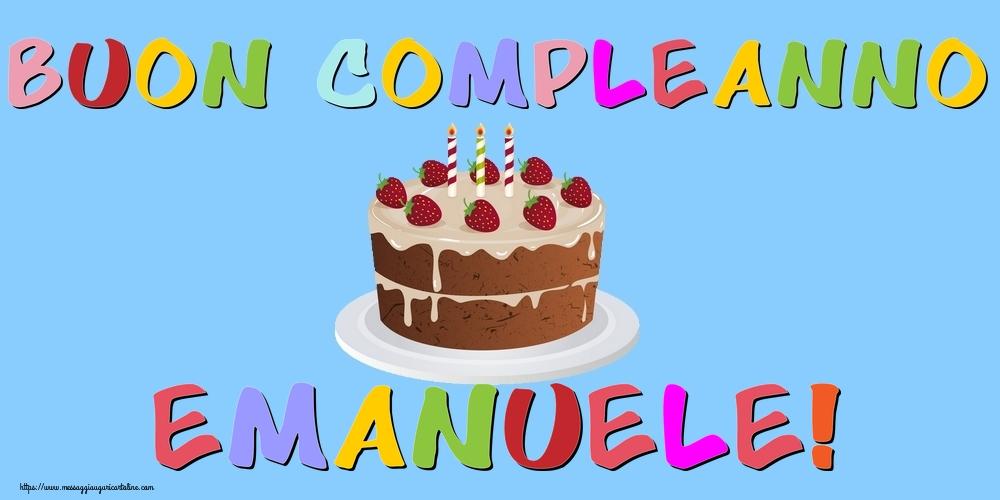 Cartoline di compleanno - Buon Compleanno Emanuele!