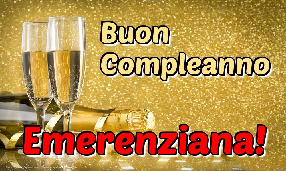 Cartoline di compleanno - Buon Compleanno Emerenziana!
