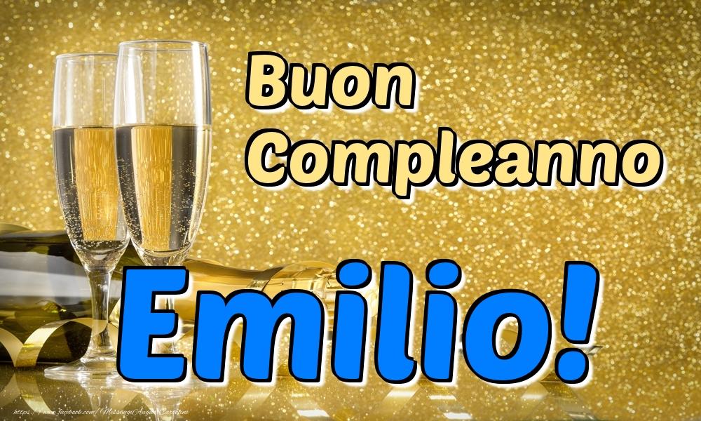 Cartoline di compleanno - Buon Compleanno Emilio!