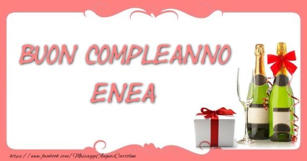 Cartoline di compleanno - Buon compleanno Enea