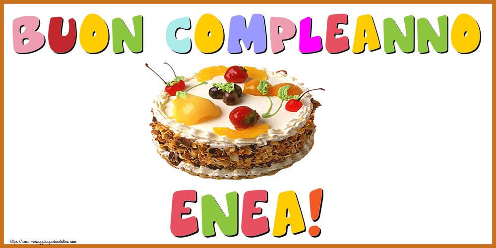 Cartoline di compleanno - Buon Compleanno Enea!