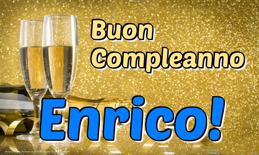 Cartoline di compleanno - Buon Compleanno Enrico!