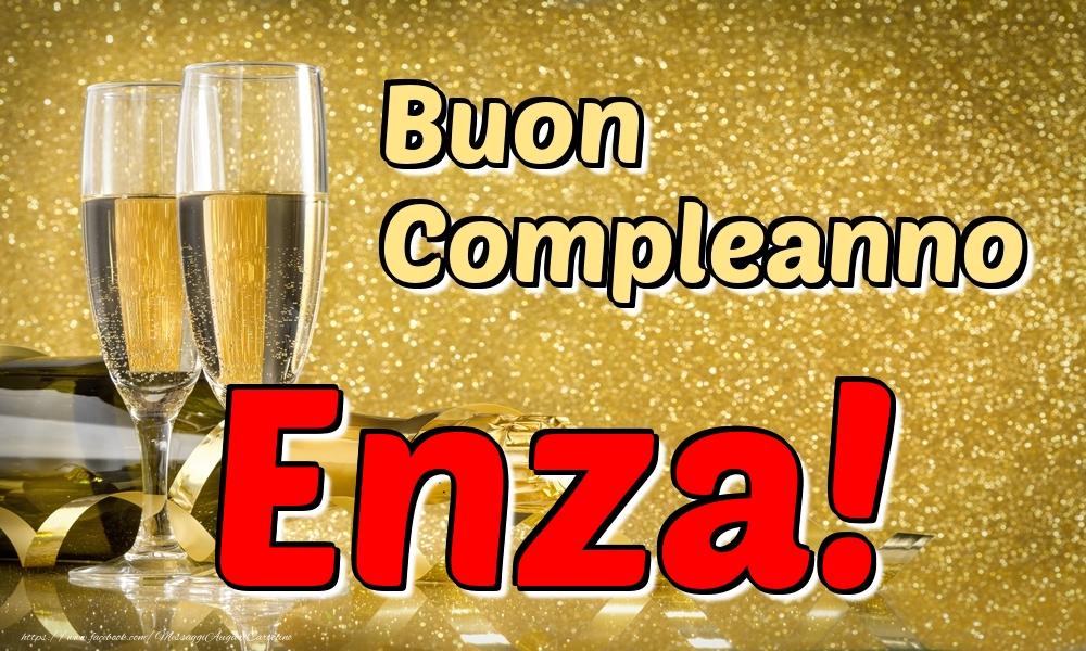 Cartoline di compleanno - Buon Compleanno Enza!