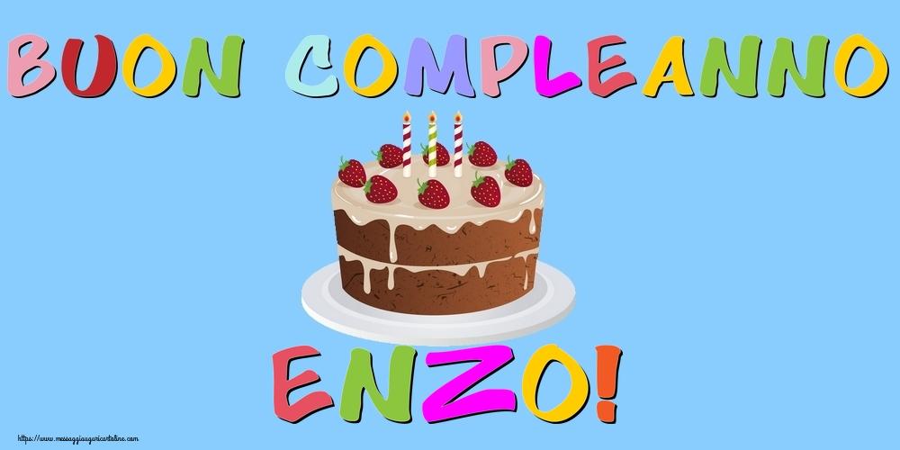 Cartoline di compleanno - Buon Compleanno Enzo!