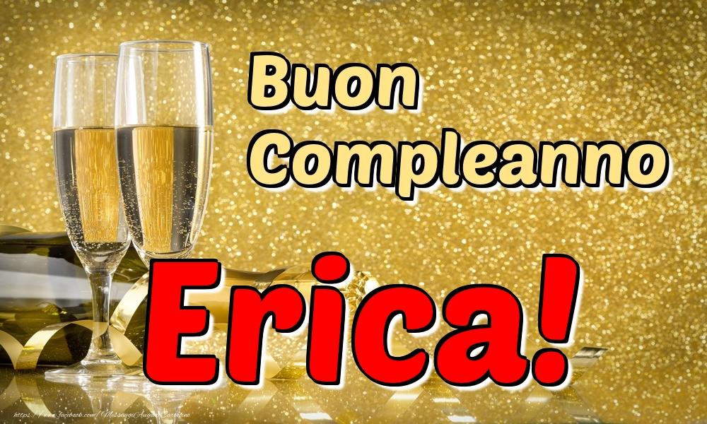 Cartoline di compleanno - Buon Compleanno Erica!