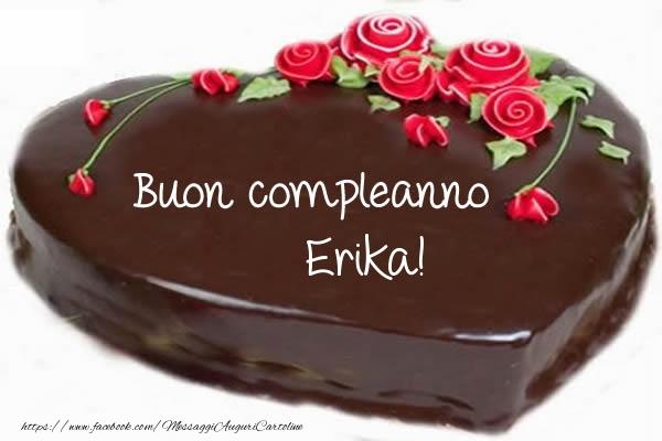 Cartoline di compleanno - Buon compleanno Erika!