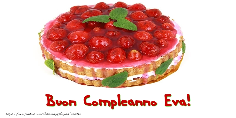 Cartoline di compleanno - Buon Compleanno Eva!