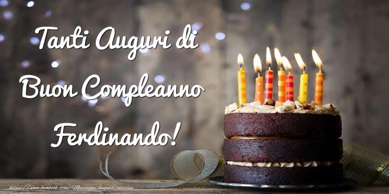 Cartoline di compleanno - Tanti Auguri di Buon Compleanno Ferdinando!