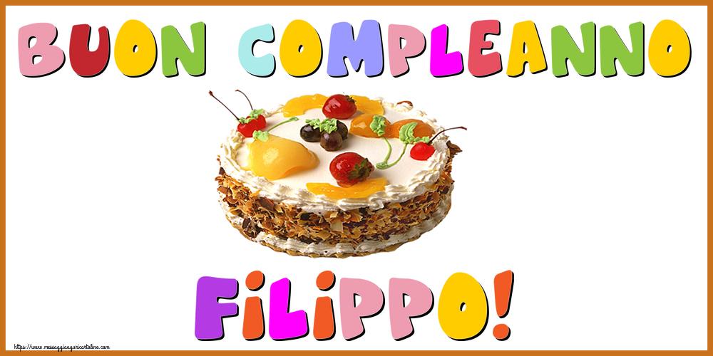 Cartoline di compleanno - Buon Compleanno Filippo!