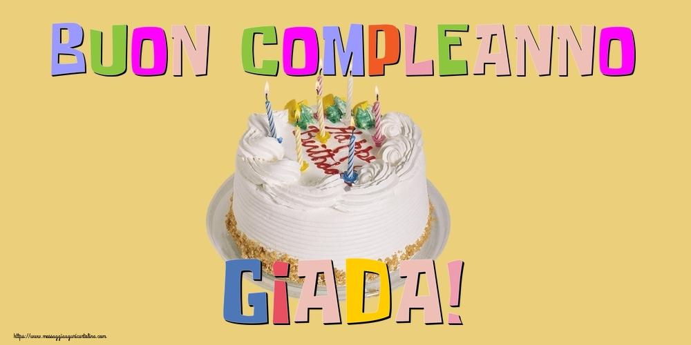 Cartoline di compleanno - Buon Compleanno Giada!