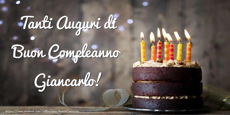 Cartoline di compleanno - Tanti Auguri di Buon Compleanno Giancarlo!