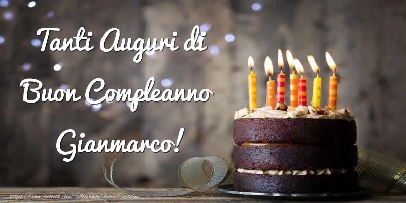 Cartoline di compleanno - Tanti Auguri di Buon Compleanno Gianmarco!