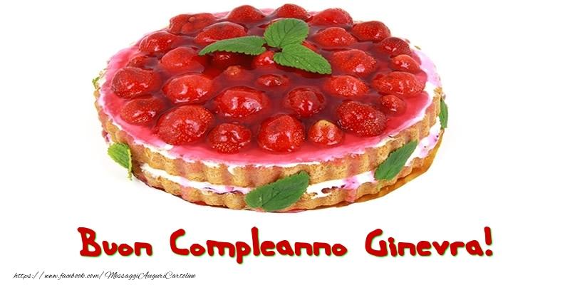 Cartoline di compleanno - Buon Compleanno Ginevra!