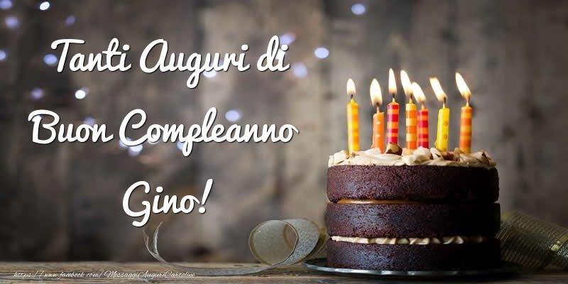 Cartoline di compleanno - Tanti Auguri di Buon Compleanno Gino!