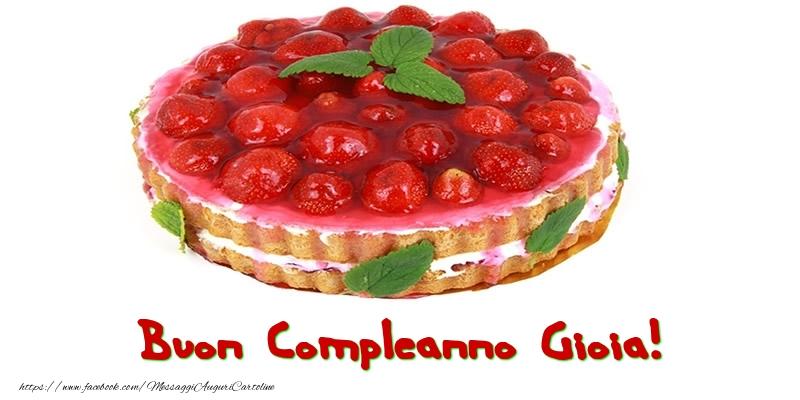 Cartoline di compleanno - Buon Compleanno Gioia!