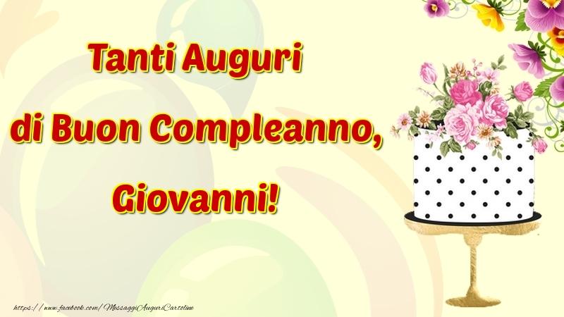 Auguri Di Compleanno Per Giovanni Images