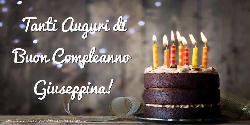 Cartoline di compleanno - Tanti Auguri di Buon Compleanno Giuseppina!