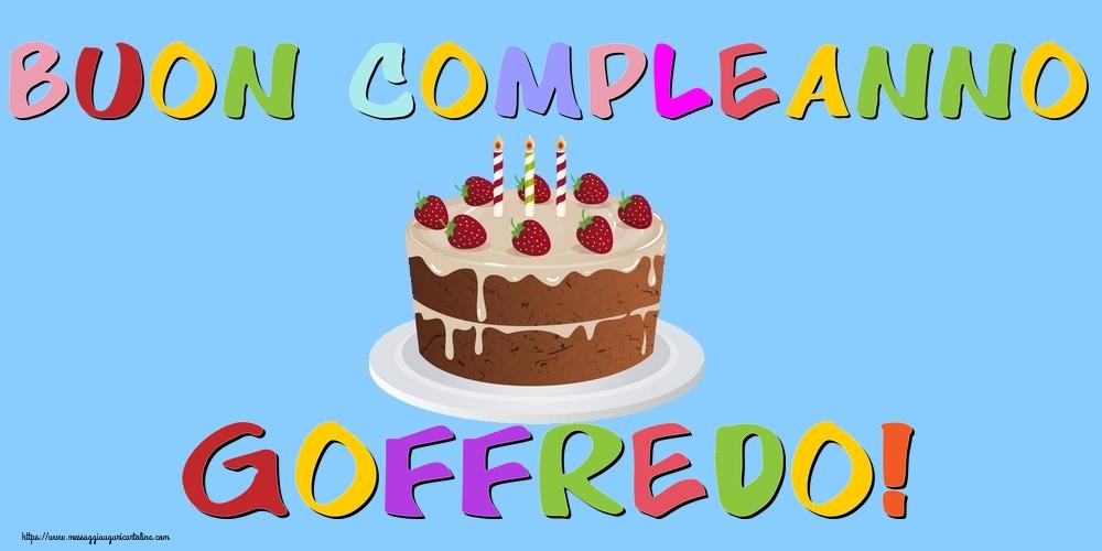 Cartoline di compleanno - Buon Compleanno Goffredo!