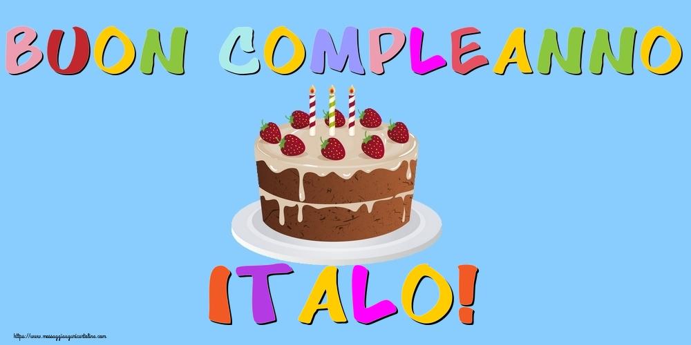Cartoline di compleanno - Buon Compleanno Italo!