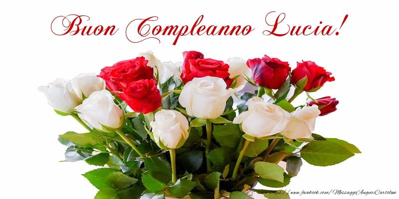 Favoloso Tanti auguri di Buon Compleanno Lucia! - Cartoline di compleanno  RO82