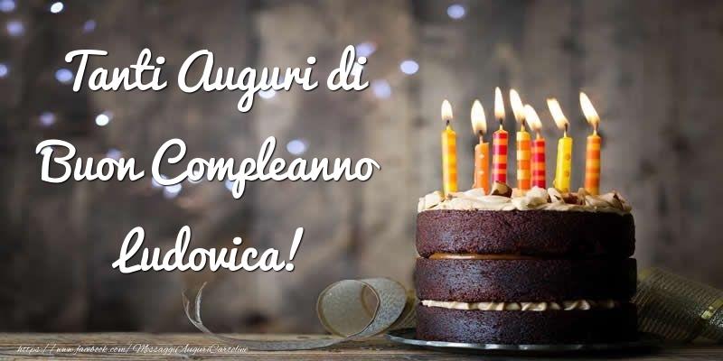 Cartoline di compleanno - Tanti Auguri di Buon Compleanno Ludovica!