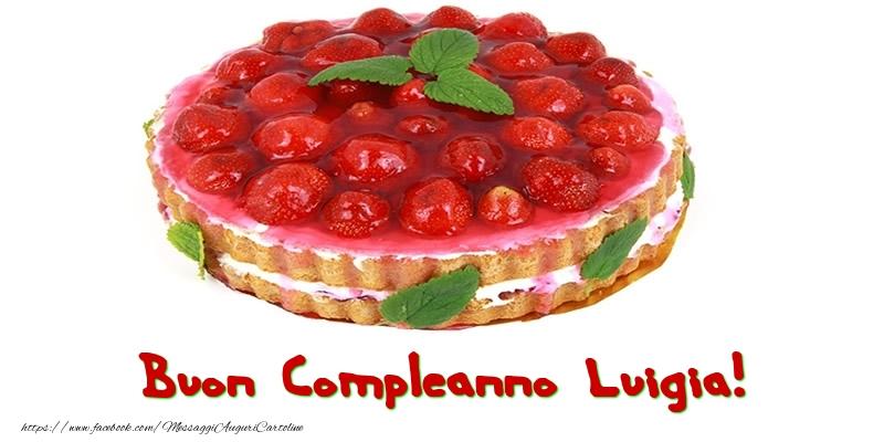 Cartoline di compleanno - Buon Compleanno Luigia!
