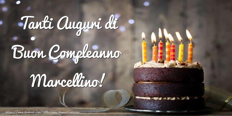 Cartoline di compleanno - Tanti Auguri di Buon Compleanno Marcellino!