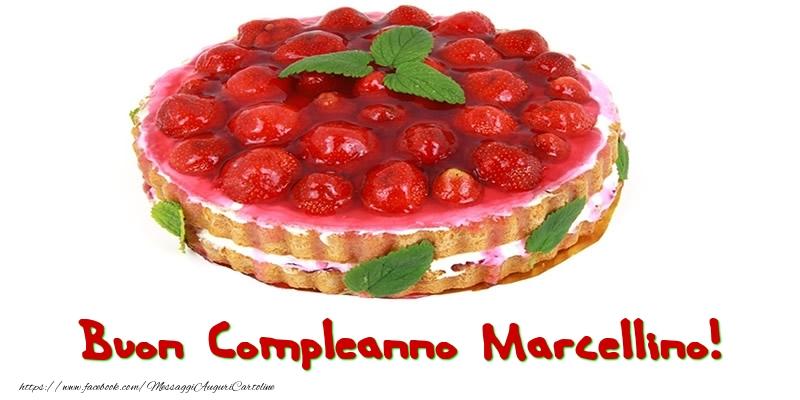 Cartoline di compleanno - Buon Compleanno Marcellino!