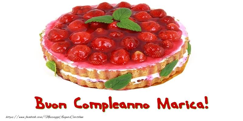 Cartoline di compleanno - Buon Compleanno Marica!