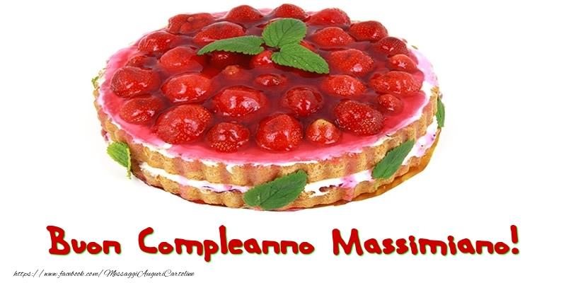 Cartoline di compleanno - Buon Compleanno Massimiano!