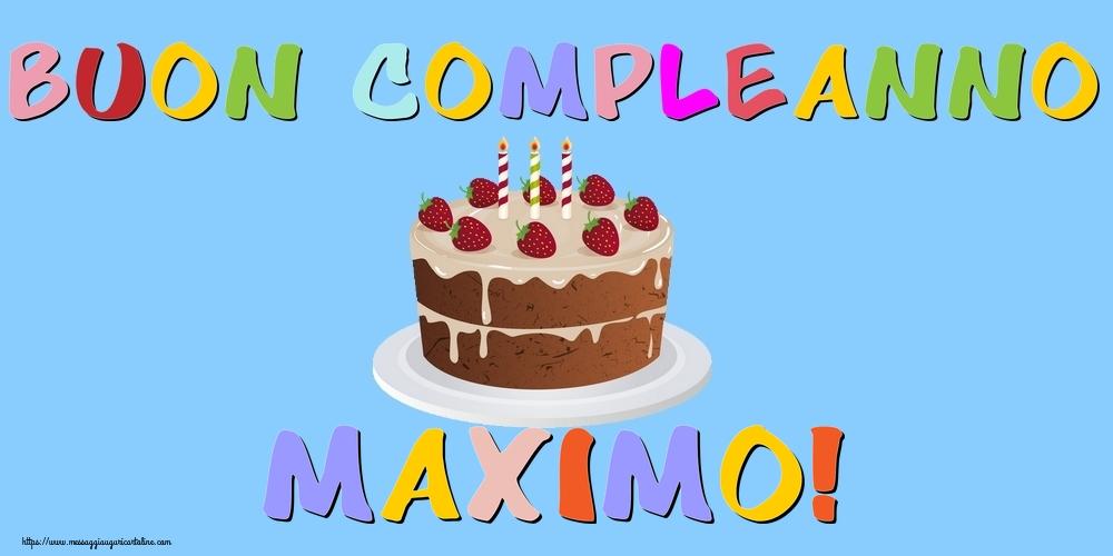 Cartoline di compleanno - Buon Compleanno Maximo!