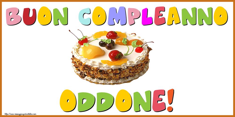 Cartoline di compleanno - Buon Compleanno Oddone!