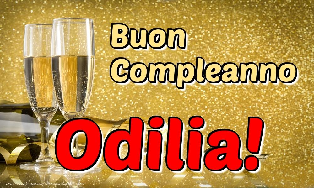 Cartoline di compleanno - Buon Compleanno Odilia!