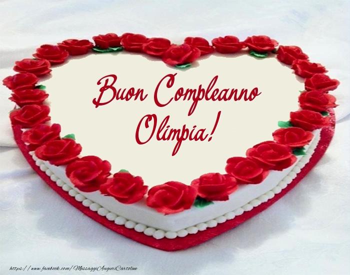 spesso Auguri di Buon Compleanno Olimpia! - Cartoline di compleanno per  QG77