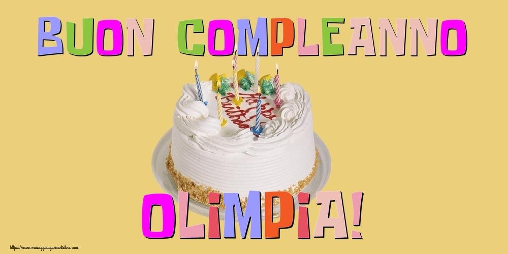 Cartoline di compleanno - Buon Compleanno Olimpia!