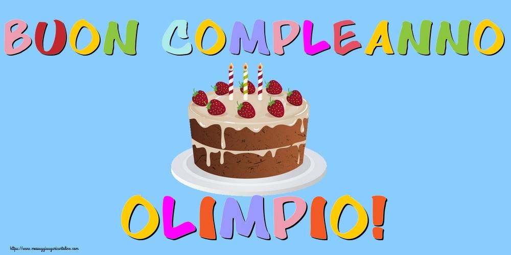 Cartoline di compleanno - Buon Compleanno Olimpio!