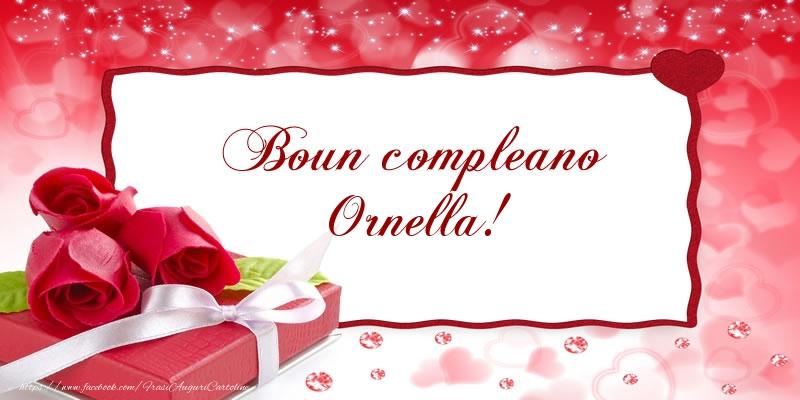 Cartoline di compleanno - Boun compleano Ornella!