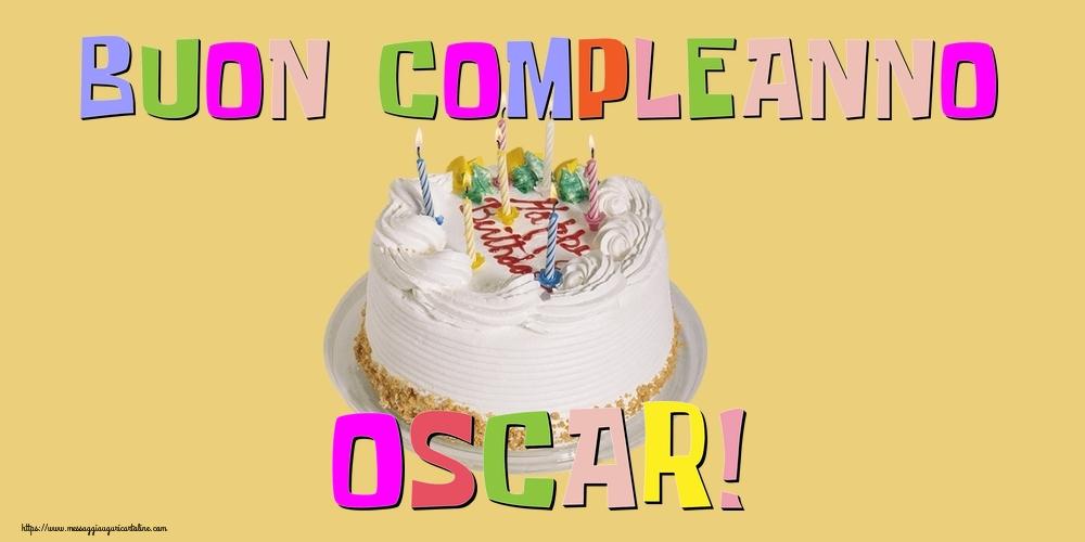 Cartoline di compleanno - Buon Compleanno Oscar!