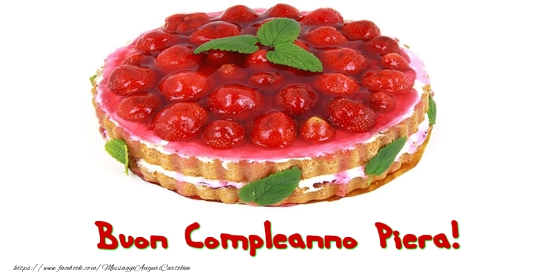 Cartoline di compleanno - Buon Compleanno Piera!