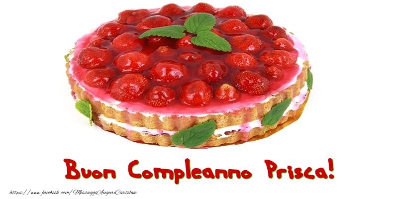 Cartoline di compleanno - Buon Compleanno Prisca!