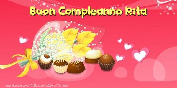 Torta Buon Compleanno Rita Cartoline Di Compleanno Con