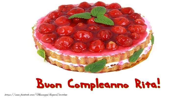 Cartoline di compleanno - Buon Compleanno Rita!