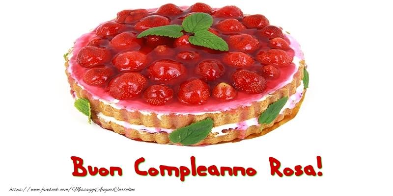 Cartoline di compleanno - Buon Compleanno Rosa!